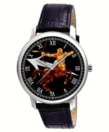 spectacular-sagittarius-zodiac-art-mens-leather-wrist-watch-lovely-birthday-gift