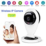 #6: Wizzit© 720P HD WiFi Home Security Camera, Wifi Wireless IP Camera, 4x Digital Zoom, Night Vision and Two-Way Audio