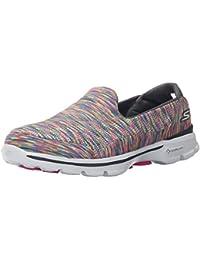 Skechers Go Walk 3 - Crazed - Zapatillas de deporte para mujer, color varios colores, talla 38,5