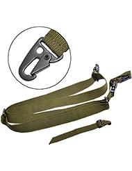 Gewehr Pistolenschlinge Verstellbarer Schultergurt, schwere Pflicht Nylon Sling,3 Point