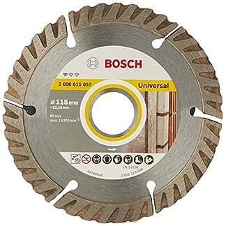 Bosch 2608602191 – Disco tronzador de diamante universal (115 x 22,23 x 1,6 x 10 mm)
