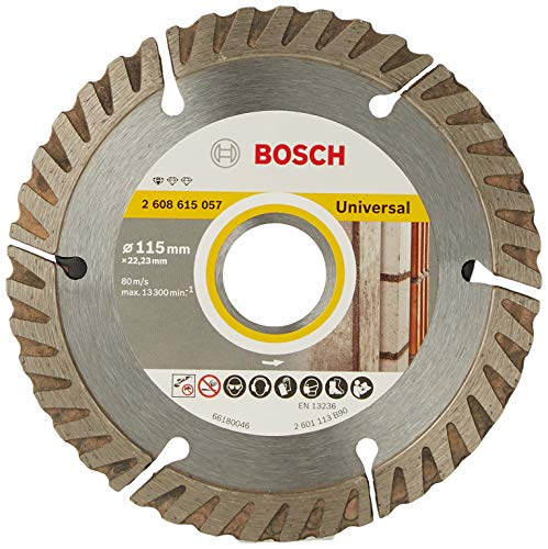 Bosch Professional 2608602191 Standard for Universal Diamond Cutting disc, 115 mm