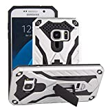 Forhouse Phone Hülle für Samsung Galaxy S7 Hülle Skin Durable Protective Case Back Bumper Cover [ Silver ]