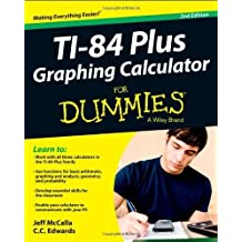 Ti-84 Plus Graphing Calculator For Dummies by McCalla, Edwards, C. C. (2013) Paperback