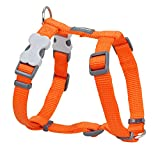 Trilus DH-ZZ-OR-SM Nylon Hundegeschirr, orange, XS