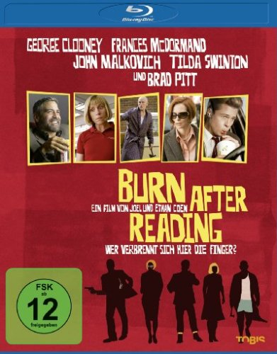 Bild von Burn after Reading - Wer verbrennt sich hier die Finger? [Blu-ray]