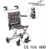 FC Premium Transit Wheelchair - Folding Wheelchairs - Steel