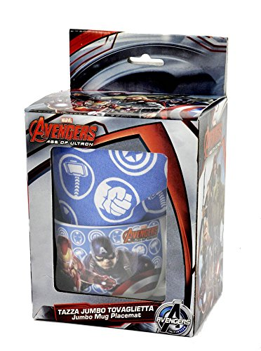 Avengers M92483 AS - Set Tazza e Tovaglietta