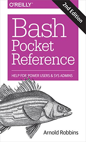 bash Pocket Reference por Arnold Robbins