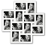 Milano White Multi Aperture Photo Frame for 12 6x4 Photos