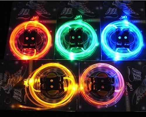 Leuchtende LED Schnürsenkel Schnürsenkel | Lichtwellenleiter-LED (Schnürsenkel Express)