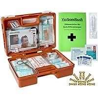 Erste-Hilfe-Koffer Kita INKL. 90° ARRETIERUNG + Hygiene-Ausstattung nach Din 13157 für Betriebe + Din 13164 für... preisvergleich bei billige-tabletten.eu