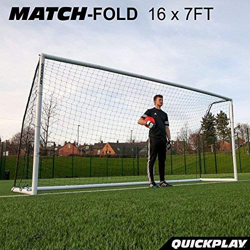 QUICKPLAY Match Klapp-Fußballtor 5 x 2m