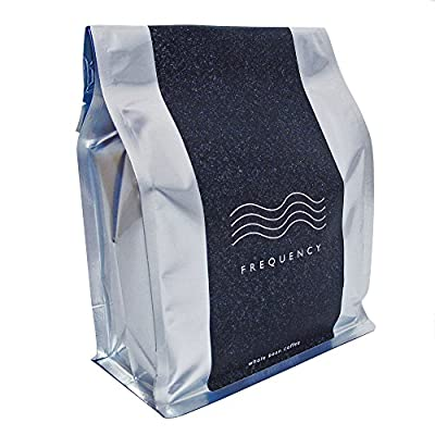 Frequency Coffee Beans - 500g Bag - Roasted in Small Batches in London - Suitable for All Coffee Machines by Frequency LTD