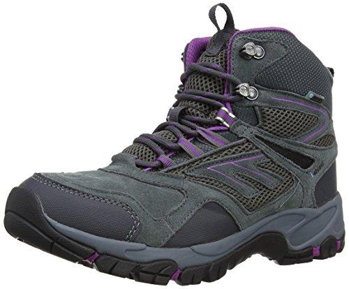 Hi-Tec Altitude Sport I Wp Women's, Stivali da trekking ed escursionismo donna, Grigio (Charcoal/Viola), 36