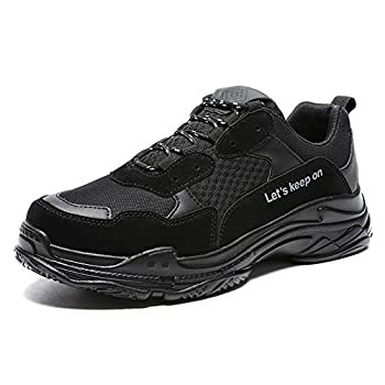 48fd3b97ae6298 Madaleno Mens Running Shoes Causal Sports Sneakers Athletic Walk Gym  Lace-up Trainers