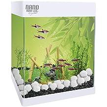Aqualed Acuario Pequeño con Led Nano 20L/30L (30 litros)