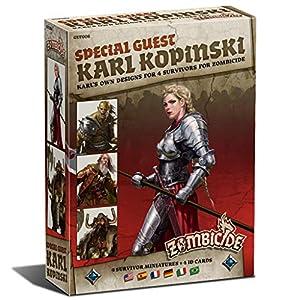 Edge Entertainment- Zombicide BP Special Guest Box Karl Kopinski, Color (EECMZB16)