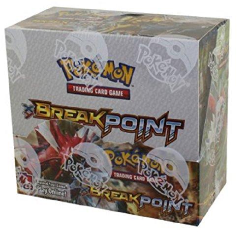 Pokemon XY9Break Point Boostern Display Kartenspiel (Mehrfarbig) (Kluft Spiel)