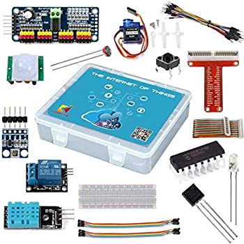 KOOKYE Starter Kits Electronic Kit Learning Pack per Raspberry Pi (IOT Starter kit per Raspberry Pi)