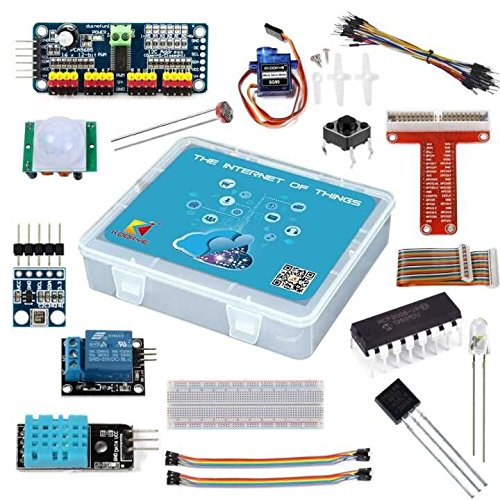 KOOKYE Internet of Things IOT Starter Kit for Raspberry Pi