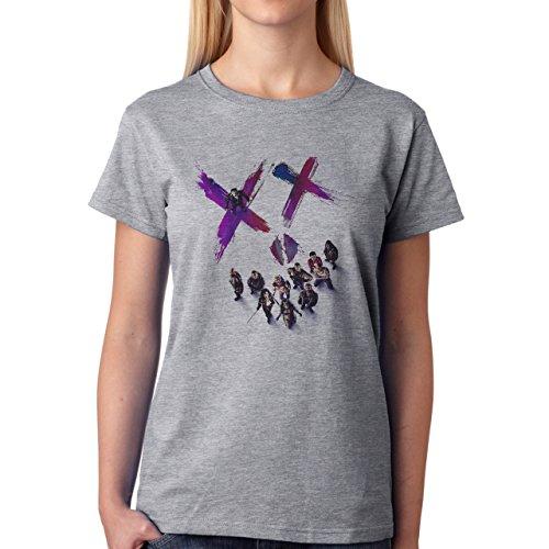 Suicide Squad 1 Damen T-Shirt Grau