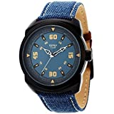 Gypsy Club Explorer Analogue Blue Dial M...