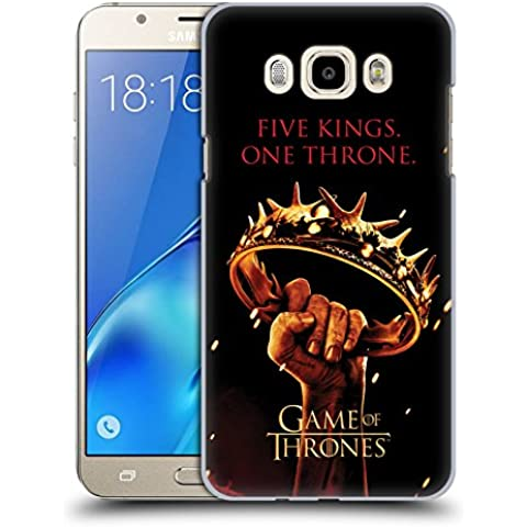 Official HBO Game Of Thrones One Throne Key Art Hard Back Case for Samsung Galaxy J7 (2016)