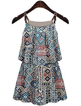 Dos calidades de adelgazar de cintura elástica de vestido de mujer para hacer una falda de impresión , xs