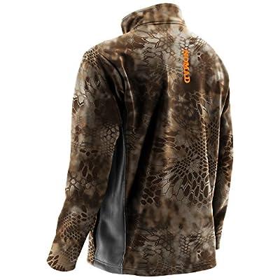 Nomad Outdoor Herren South Bounder Camo 1/4Zip Fleece Jacke von Nomad auf Outdoor Shop