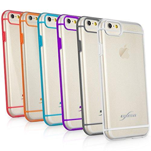 BoxWave Étui iPhone 6 et iPhone 6 SimpleElement BoxWave Corporation Coque Ultra-fine Semi-rigide transparente de protection (Violet)