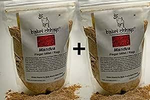Finger Millet Flour/Ragi Flour/Mandua Atta (Combo Offer: 500gms+500gms)
