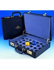 "Snooker bola estuche.–Maletín de lujo para un tamaño completo 21/16""bola de billar juego."