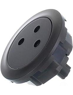 enjoliveur simple commande graphite doigt large legrand c/éliane