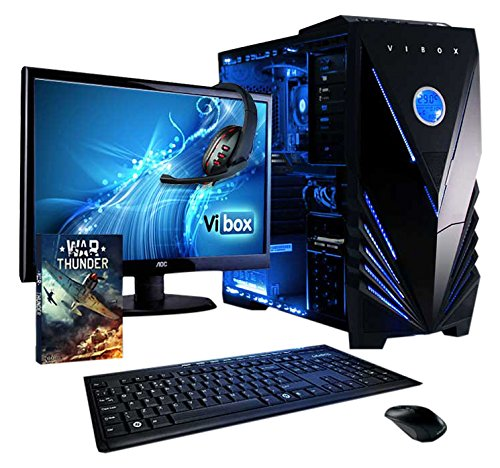 VIBOX Precision 6 - Ordenador para Gaming (21.5', AMD FX-4300, 8 GB de RAM, 1 TB...