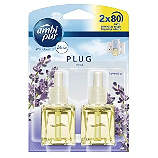 Ambi Pur 20 ml Lavender Air Freshener Plug-in Refill - Pack of 2