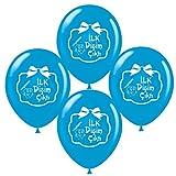 Dis Bugday Balon Luftballons Party Zahnparty Deko Sünnet Kapi Süsü Bayrak Masallah ilk dis erkek
