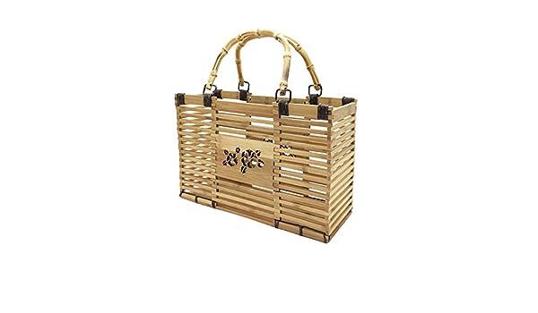 Freies Verschiffen Aus Deutschland Meaeo Mode Bambus Korb