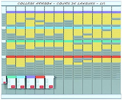 nobo-kit-tableau-planning-a-fiches-t-annuel-13-colonnes-32-fentes-66-haut-x-80-larg-cm