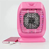 Luz LED Que Atrapa El Dispositivo De Control De Parásito Inhalación Que Golpea El Mosquito Electrónico Que Mata La Lámpara con La Purificación del Aire,Pink