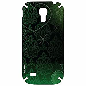 Jack Parrot Mobile Skin Pattern Green 026 for Samsung Galaxy S-4 Mini