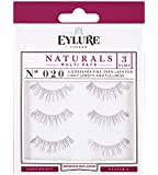 Eylure Strip Lashes Number 020, Naturals - Pack of 3