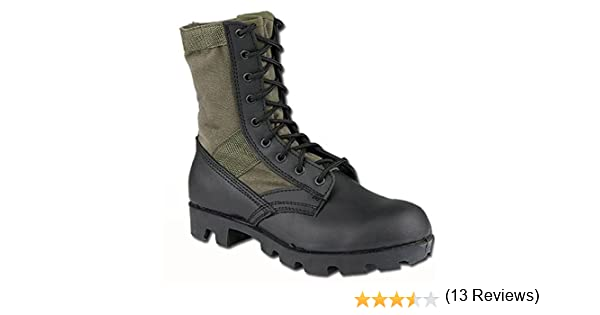 Mil Tec Tactical Side Zip Stivali Nero: Amazon.it: Scarpe e