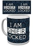 empireposter Sherlock - Sherlocked Dark - Keramik Tasse - Größe Ø8,5 H9,5cm + Zusätzlich erhalten Sie eine Lizenz Keramik Tasse - Größe Ø8,5 H9,5 cm