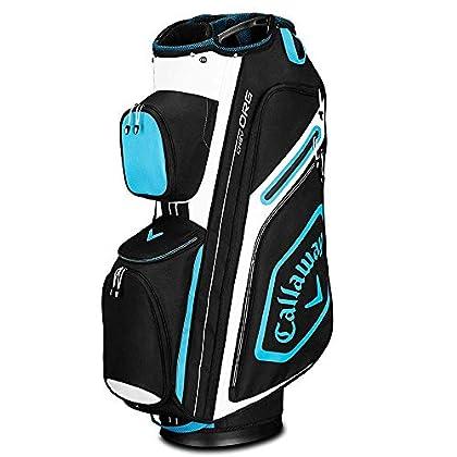 Callaway Chev Org Bolsa para Palos de Golf, Hombre, Negro/Azul/Blanco, Talla Única
