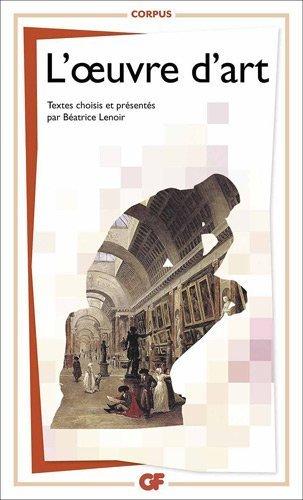 L'oeuvre d'art de Batrice Lenoir (3 novembre 2012) Poche