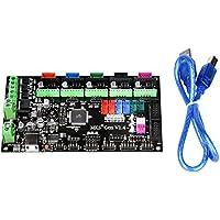 Popprint MKS-Gen V1.4Kontroller-Board, mit integriertem Ramps 1.4und Mega 2560Mainboard, mit Kabel für RepRap 3D-Drucker.