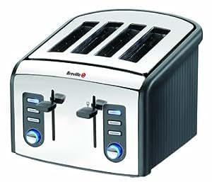 Breville VTT215 Stainless Steel 4 Slice Toaster