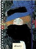 Agenda journalière spiralata PPL 12x 16.6fermeture avec élastique 2019–Klimt (18.021)