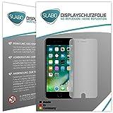 4 x Slabo Displayschutzfolie für iPhone 7 Plus / iPhone 8 Plus Displayfolie Schutzfolie Folie Zubehör (kleinere Folien aufgrund Displaywölbung)